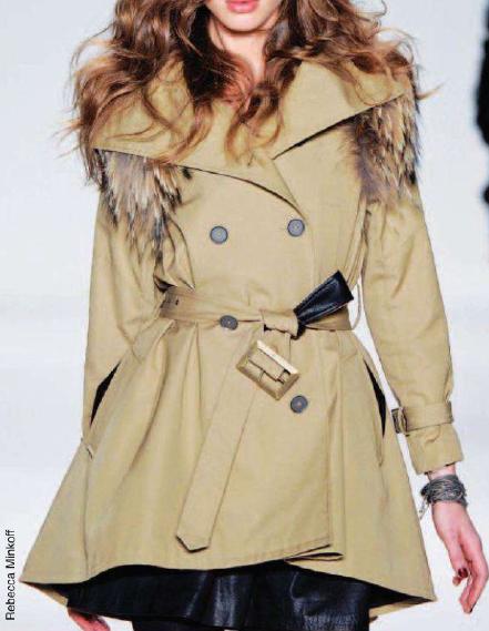 Tendencias de moda abrigos 2012