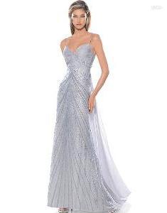 vestido de damas novias elegantes playa boda