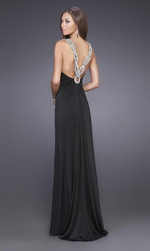 Vestido elegantes para damas negro, elegant bridesmaid black dress beach