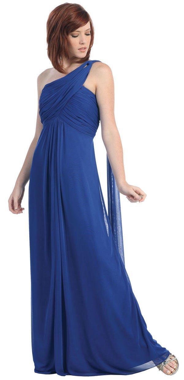 vestido de damas azul novias vestido azul