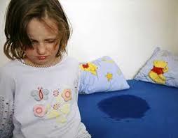 niños mojan la cama