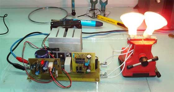 Como hacer un inversor de corriente cc casero 400w - Inversor de corriente ...