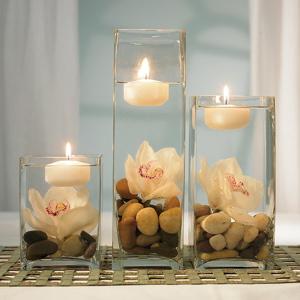 velas candeleros