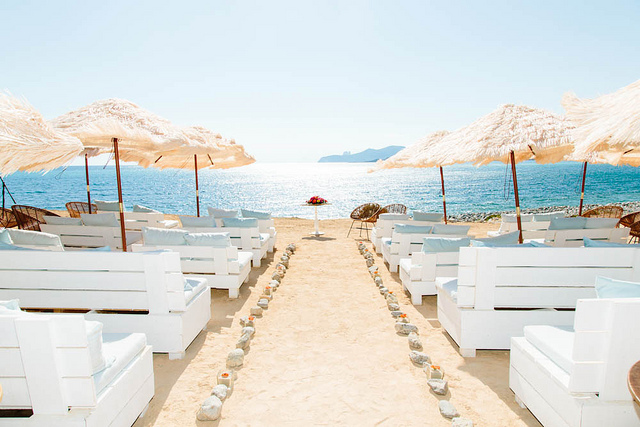 Ibiza wedding at the beach