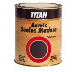 Barniz Poliuretano Brillan Titan Suelo Madera 500Ml043000112
